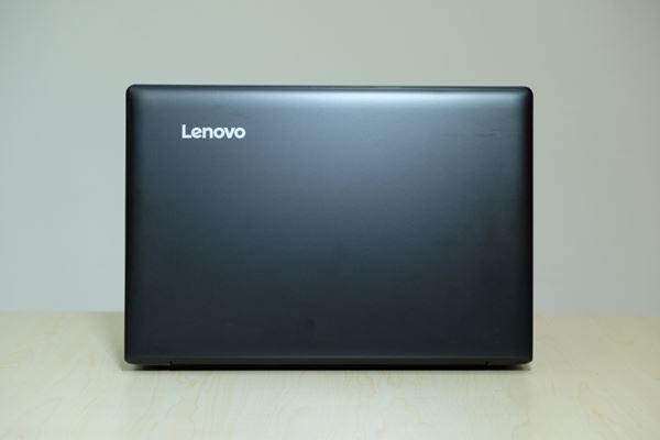 Lenovo IP310 layar terbuka belakang