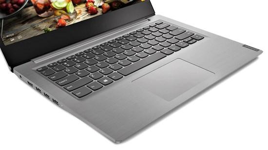 Lenovo IdeaPad S145 Intel Celeron 4205U depan kanan