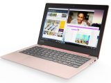 Lenovo IdeaPad 120s-11IAP Ballerina Pink Front Left